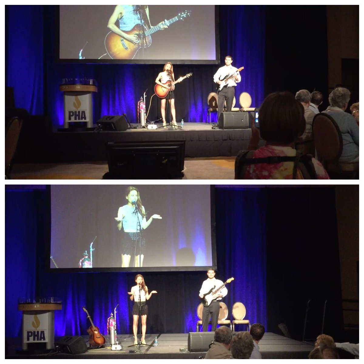 Such a great time performing w/ @Musical_Chemist at the #PHAConference @PHAssociation https://t.co/5xsAo2uMy3
