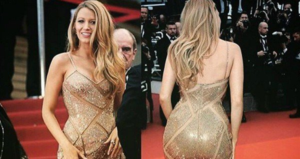 Blake Lively likes defending her big butt and she cannot lie.