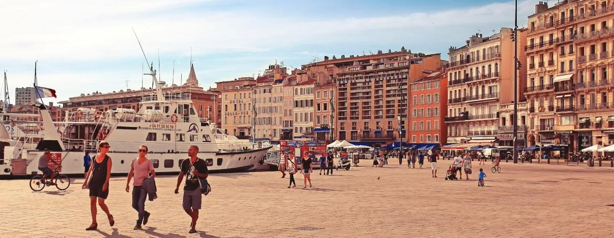 Marseille's Old Port is filled with fun activities. Learn more about our city of the month: