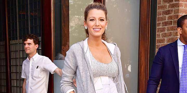 Maternity maven Blake Lively is now pairing sweats with couture—and still looks incredible