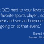 Immerse yourself in events through #VR with #OZO. For more, follow @Haidamus, president of @nokiatech. https://t.co/LcpkVv1eV3