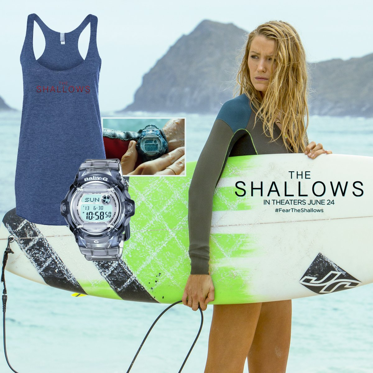 FOLLOW & RT for a chance to #WIN this exclusive @ShallowsMovie prize pack! Good luck! #FearTheShallows https://t.co/KQowPi7XVX