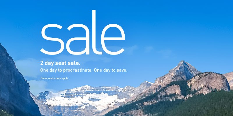 Last day to save. Book by 6/22/16 (2359 MT) Travel from 9/7/16-12/14/16. Restrictions apply.