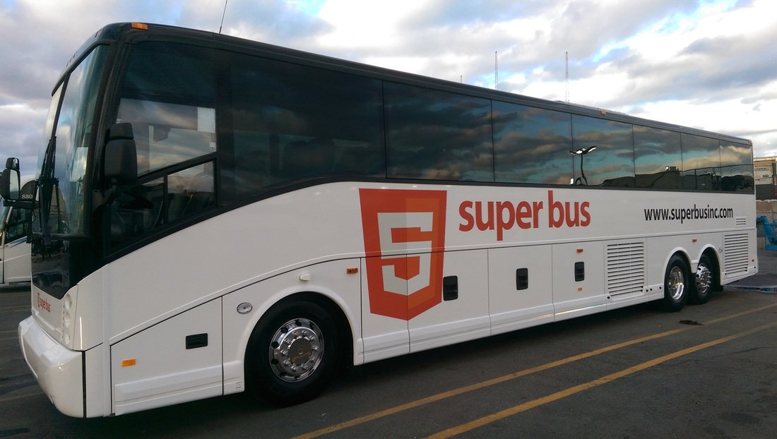 Logo hilarity via @placenamehere: Bus: https://t.co/fSTKWVnQOV HTML5: https://t.co/7VDFxaB7uS A new element is born. https://t.co/JTvJ9FAtQo