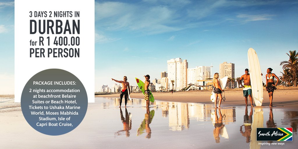 Escape the cold and take a #ShotLeft to Durban with this awesome deal: https://t.co/JqOG7mGRgo https://t.co/HuBm7LsxQF