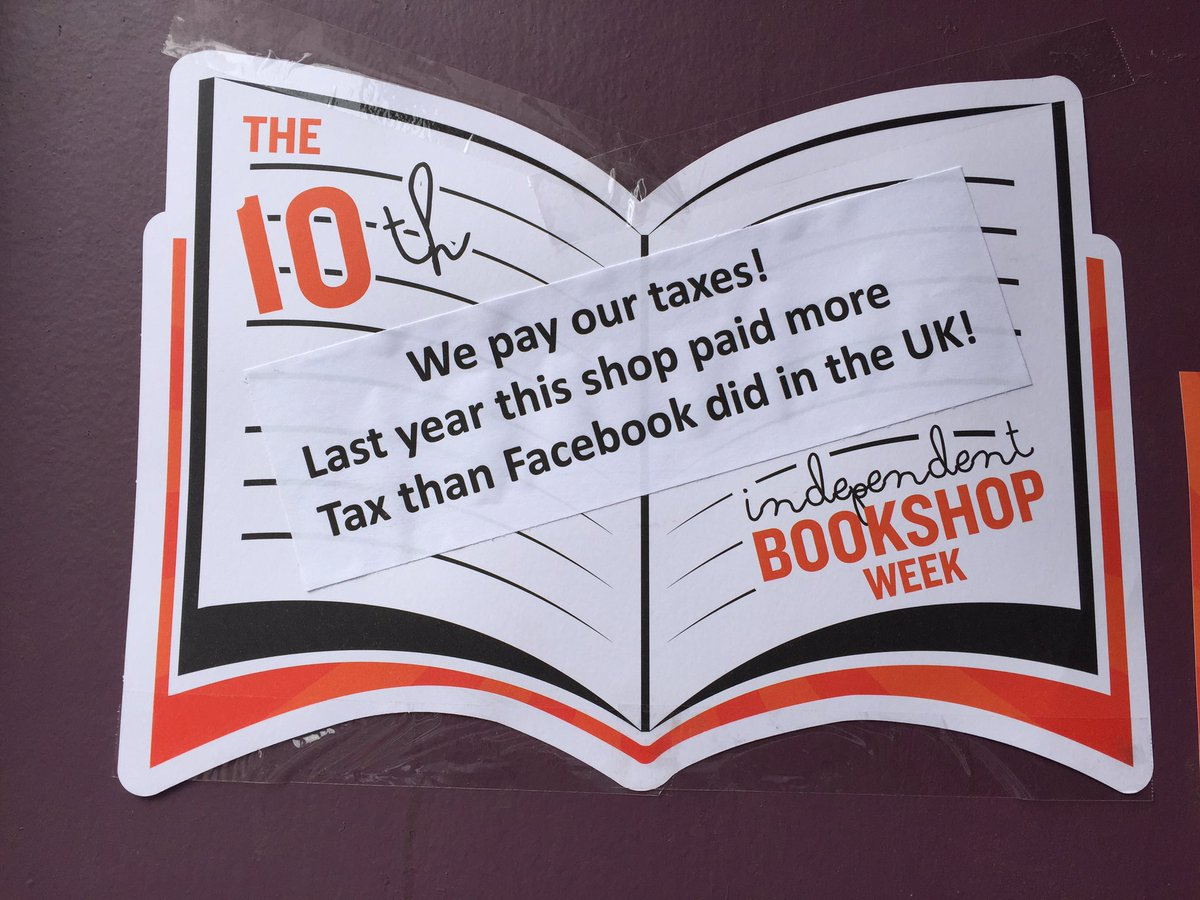 Indie Bookshop fact of the day #IBW2016 https://t.co/c1sBi7Umnh