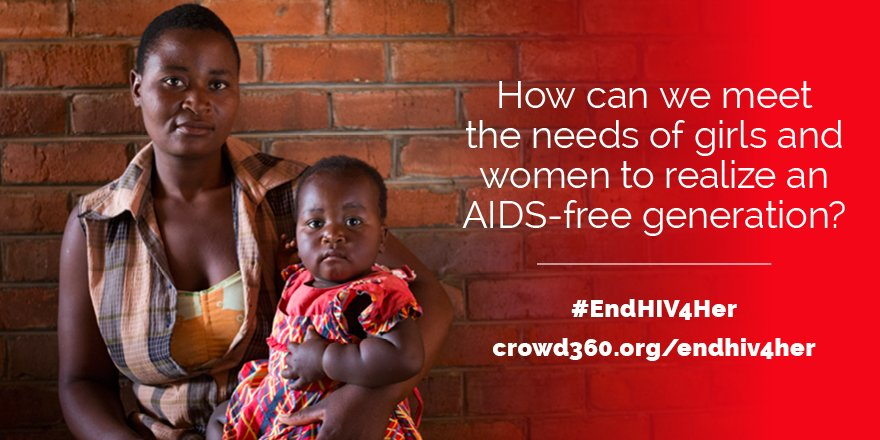 Girls & women are disproportionately affected by HIV/AIDS. How can we best meet their needs? Reply w #EndHIV4Her. https://t.co/yOmgaSZT4l