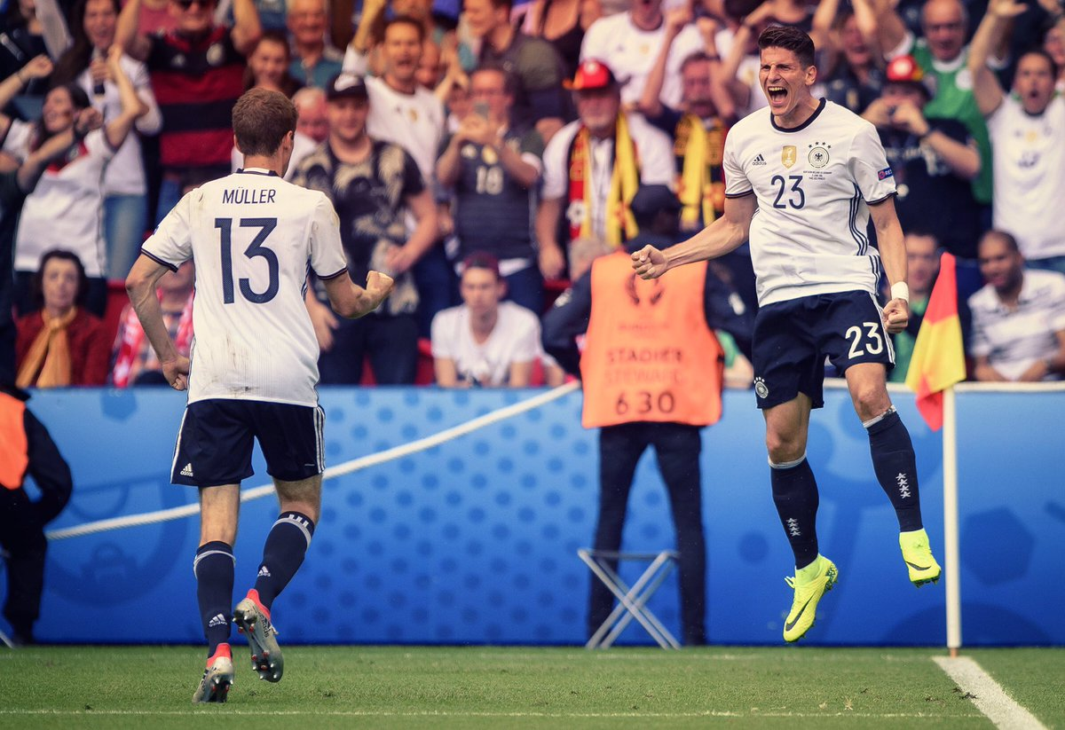 Well done yesterday! Now we are in the game! Great victory. I'm very happy!#ViveLaMannschaft #JederFuerJeden #NIRGER https://t.co/EdygVG2T6R