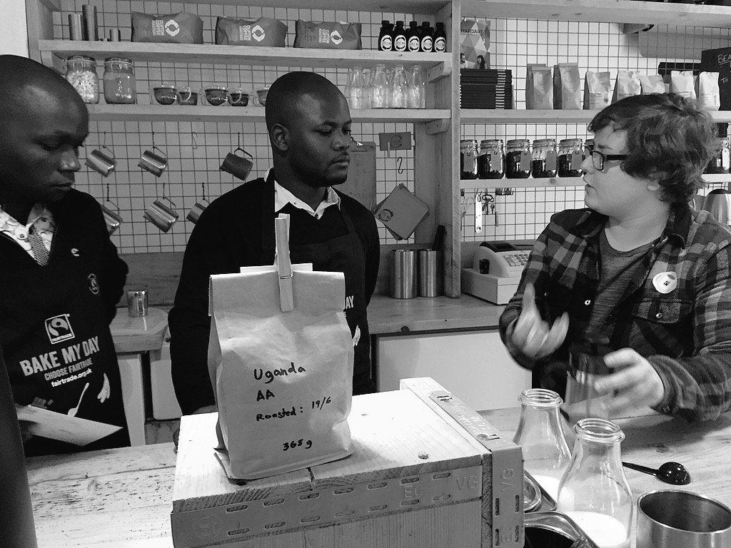 Wales&Uganda learning from each other @littlemancoffee @Gumutindo @twinfairtrade @EqualExchangeUK @FairtradeUKNews https://t.co/nX1gI5JtiM