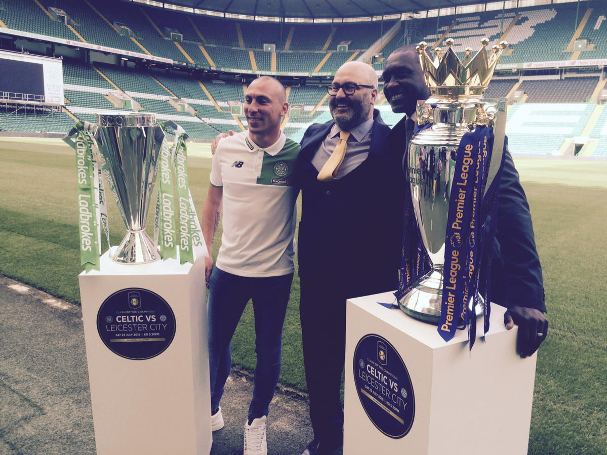 Scottish champions v English champs to be an annual event #SPFL https://t.co/Zw3mKVgOsg