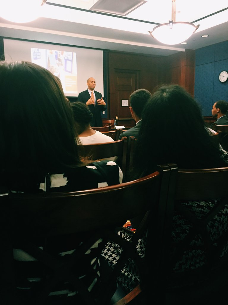 """Number of kids with incarcerated parents went up 500% since 1980"" - @CoryBooker https://t.co/m9OguJLYLb"