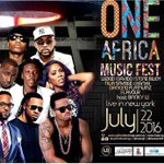 Witness the magic of Africas superstars live @BarclaysCentre at the #OneAfricaMusicFest in NYC on 22nd July https://t.co/5U8yKmRMIs