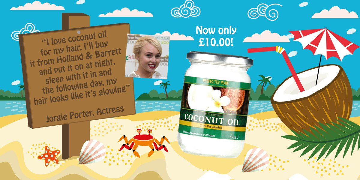 We're #coconutcrazy & so is @misJORGIEPORTER, using #coconut oil on her hair. Tried it yet? https://t.co/8pGZs55qwp https://t.co/00h1hIFywB