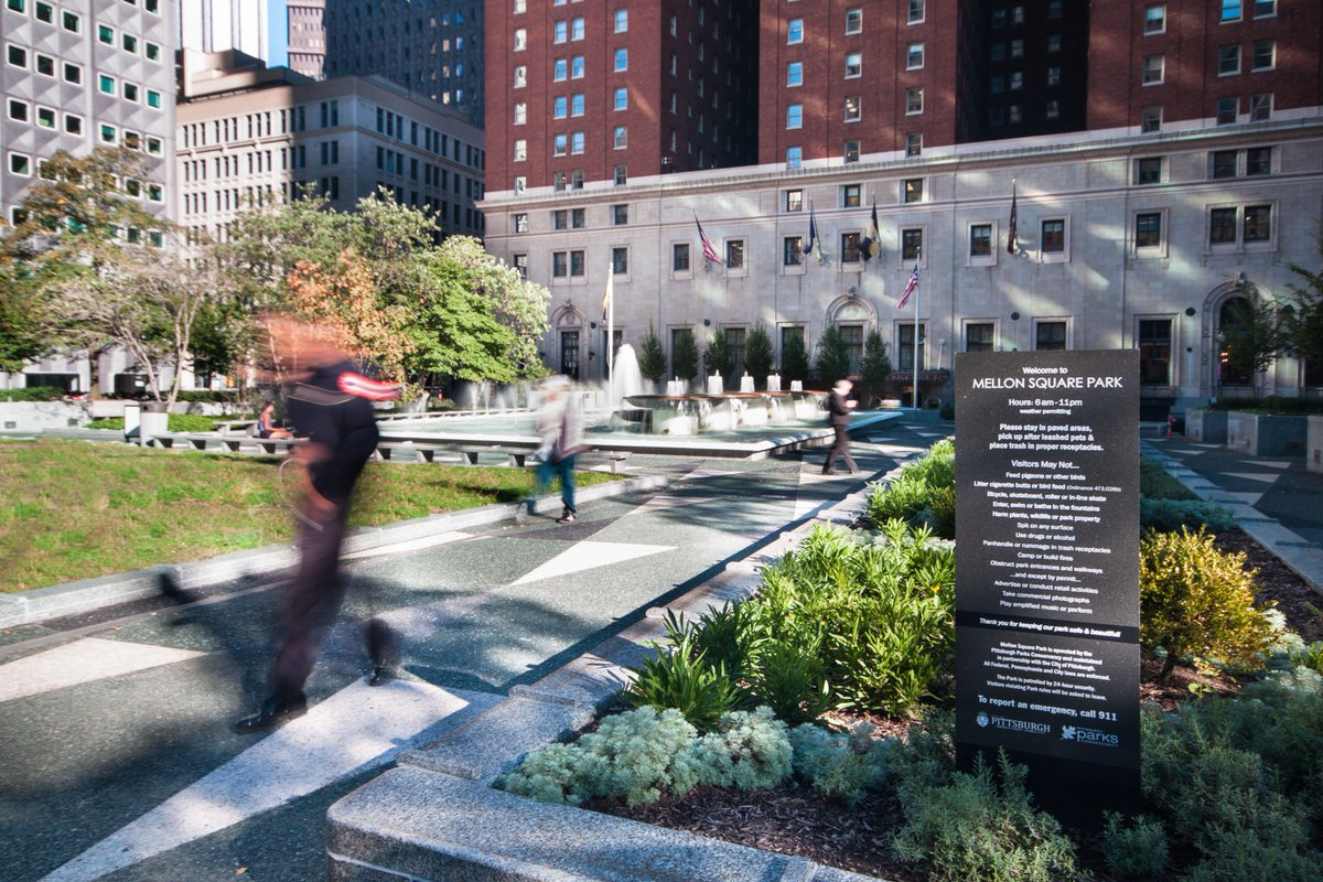 An incredible honor: #MellonSquare restoration wins prestigious national award https://t.co/MULeK6cd7W https://t.co/tPfo1hZ1OV