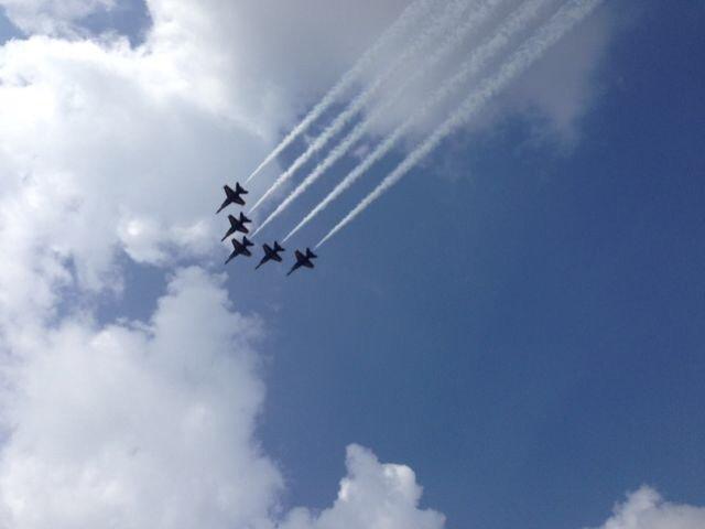 Five Blue Angels over Pensacola~ https://t.co/rKS8KZTbjc