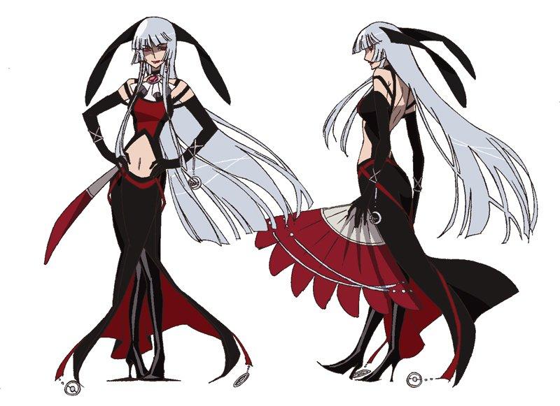ちなみに京騒戯画というアニメに和睦黒ウサギ(本当だよ)の古都さま(女性)がいるんだが、江雪さんに色々とクリソツなんだ。京