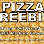 Its that time again Hokies! Follow us and RT this for your chance to be a randomly selected winner of a free pizza! https://t.co/qF8M4yBYzq