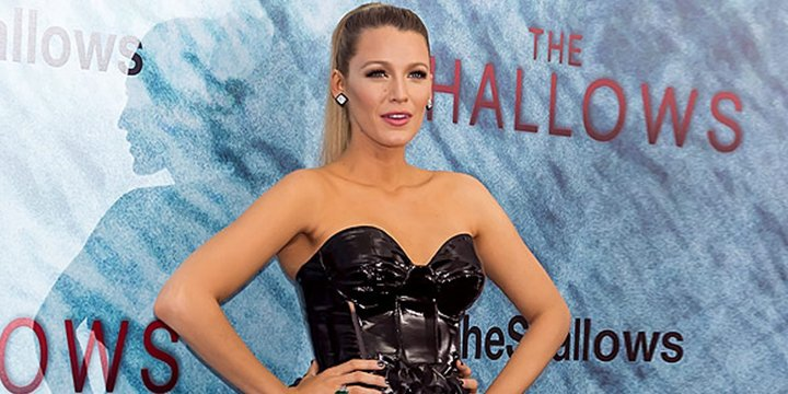 Blake Lively rocks two different dresses for TheShallows premiere via @People_Style