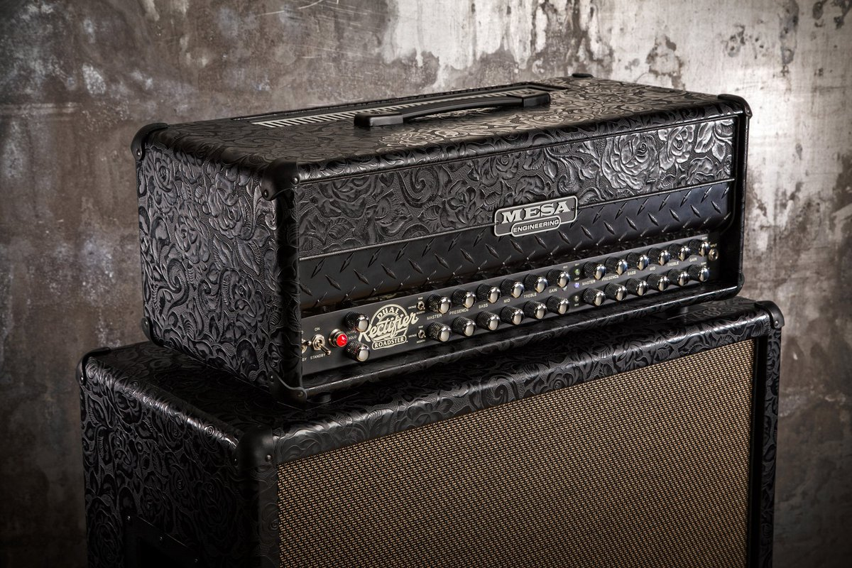The Dual Rectifier Roadster, shown here in Black Floral Leather with Black diamond plate! https://t.co/6lWEiKTOh0