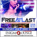 #ATLs Biggest #4thOfJuly Celebration Sunday at The All New Enigma Lounge 18+ 1 Night Only #FireWorksATL #CRAFT https://t.co/25LpS6Jrqc