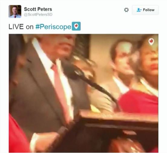 C-SPAN used @periscopeco to show House floor when cameras & feed were turned off ... cc: @AdamS @EricZuck https://t.co/S1v7wPCuC9