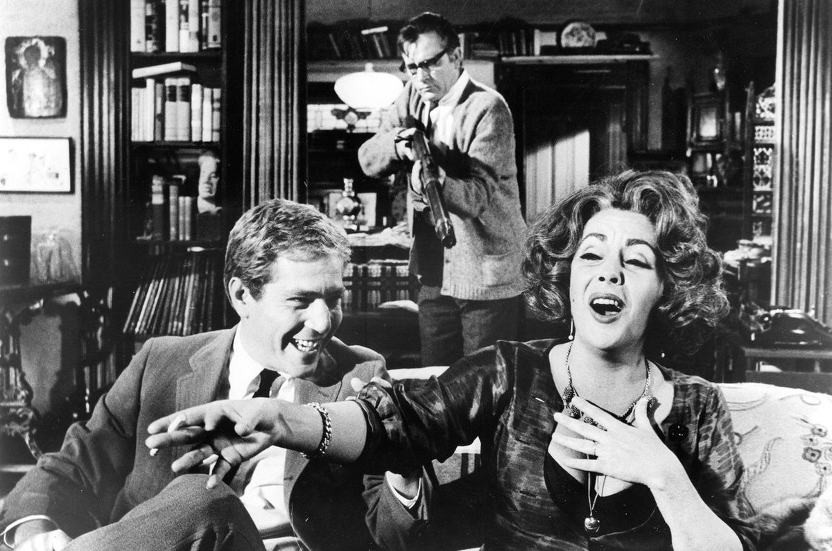 The film version of Edward Albee's WHO'S AFRAID OF VIRGINA WOOLF is 50 yrs old today. Amazing film, amazing writer. https://t.co/4ODjVnDsNM