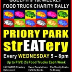 Food trucks tonight in #Guelph - @PrioryParkUFT 5-8pm 8 torch lane, near @stoneroadmall! Come hungry friends! https://t.co/fvHh0FWr8B
