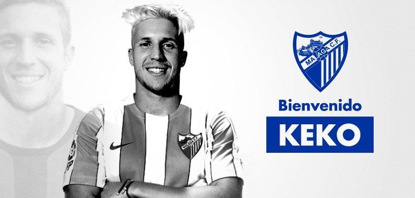 MCFNews| Sergio Gontán 'Keko' ya es nuevo jugador del #MálagaCF.