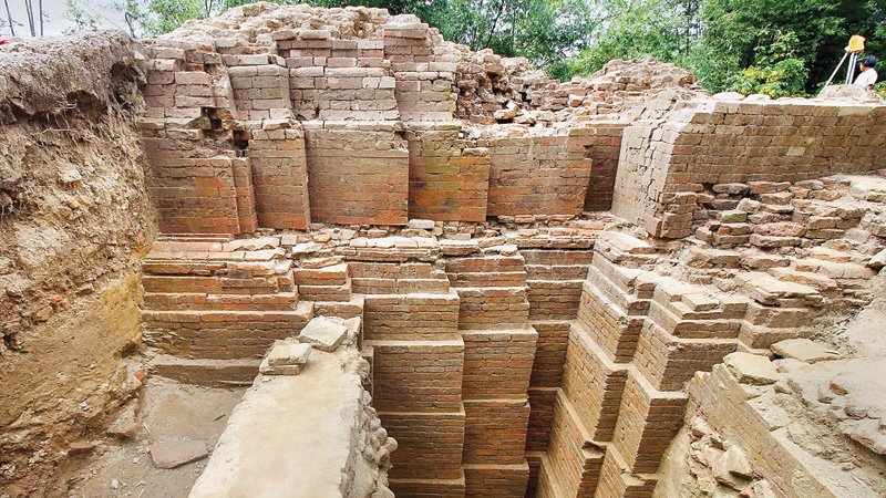 #archaeology: 1000-year-old Hindu temple excavated in Bangladesh - https://t.co/B8rnJ3I6kc https://t.co/ycJzzS2yJS