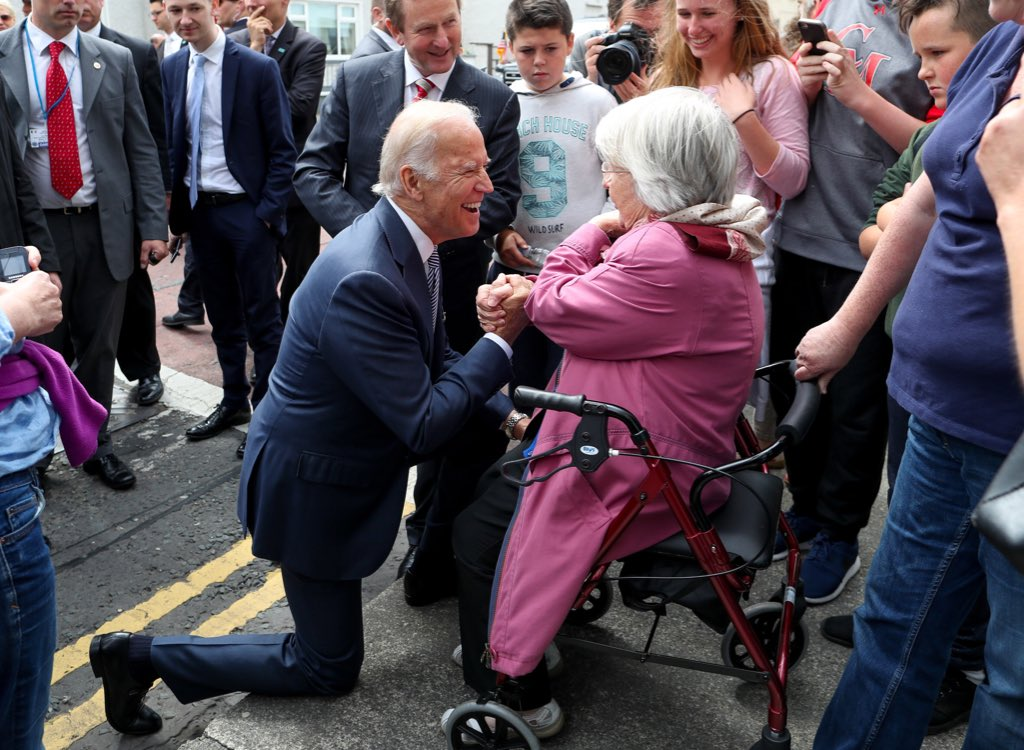 .@VP has enjoyed every moment meeting the local people of Ballina #BidenInIreland https://t.co/9VoltxmDuI