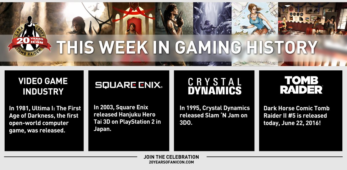 Have a look at what happened #ThisWeekInGaming history! #TombRaider20 https://t.co/XuKeurin4C