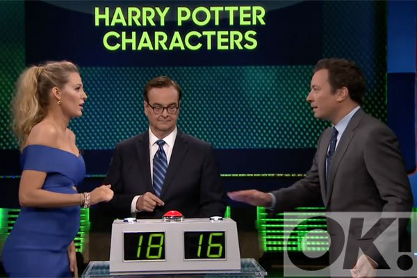 Blake Lively is a BIG Harry Potter fan! Watch her show off her knowledge on @FallonTonight: