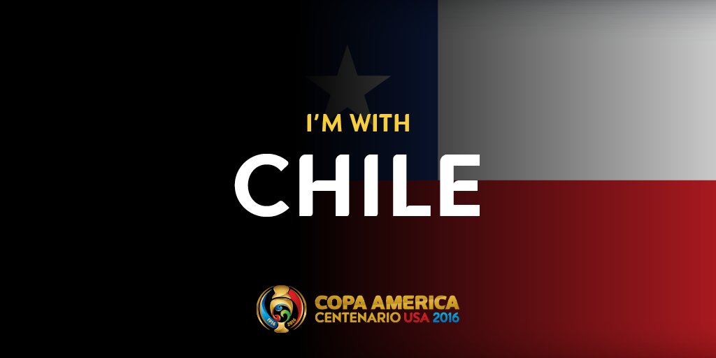 Only a few hours left for the game! Retweet this picture if you want #Chile to go to the Finals against Argentina! https://t.co/VDGxpRZVoh