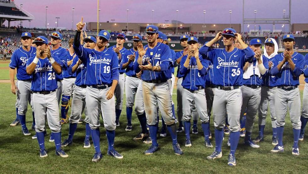 .@UCSB_Baseball's historic postseason came to a close Wed. Congrats on a great year! RECAP: https://t.co/DCAcyyPs6G https://t.co/nYegN4DMXF