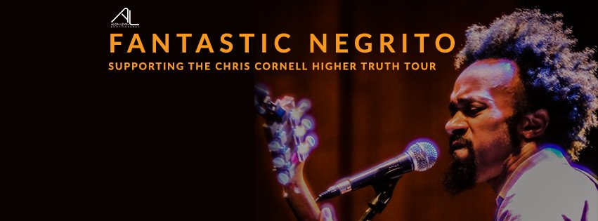 Tune in tomorrow afternoon, @MusicNegrito will be on-air prior to his Hippodrome show with @chriscornell. https://t.co/eOMOo9SzC8