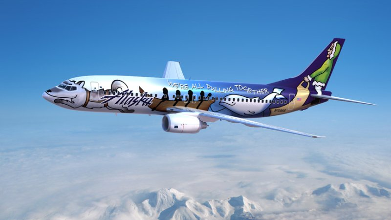 "Our beloved ""Spirit of Alaska Statehood"" airplane officially retires:"
