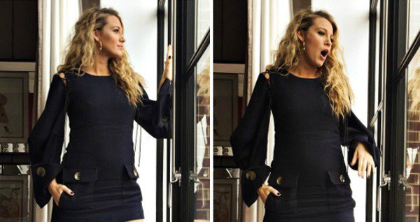 Blake Lively shows us the expectation vs. reality of pregnancy: