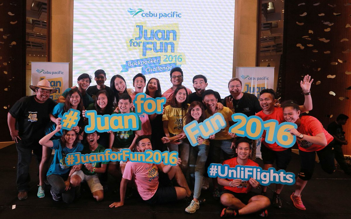 Our JuanforFun2016 teams have started their 7-day backpacking challenge!