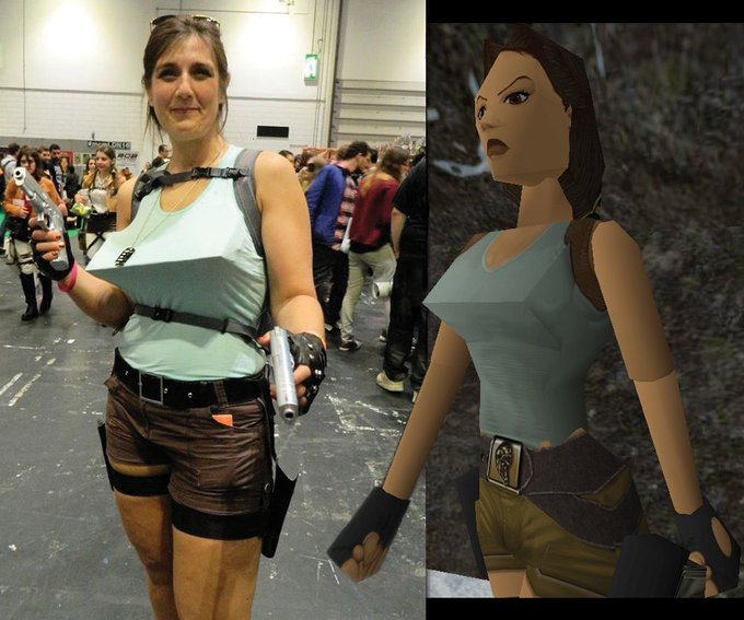 Crédible le cosplay Tomb Raider 1996 https://t.co/oM9oED7Pqe