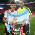 Good luck to Argentinas @MarcosRojo5 and Sergio Romero, who face Chile later in the #CopaAmerica final! https://t.co/wA3o2tJibQ