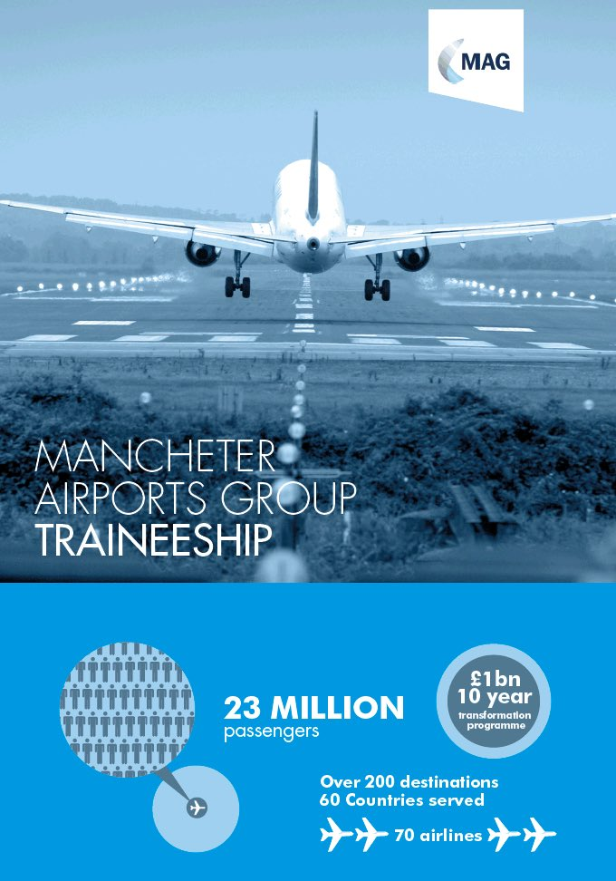 RT @MAComRels: New to @manairport Virtual Jobs Fair our M.A.G Traineeships: