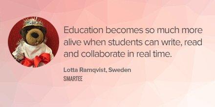 Education comes alive through #collaboration. https://t.co/CJVsjXE57a #edtech #sped #ISTE2016 https://t.co/F0Vwtzp26w