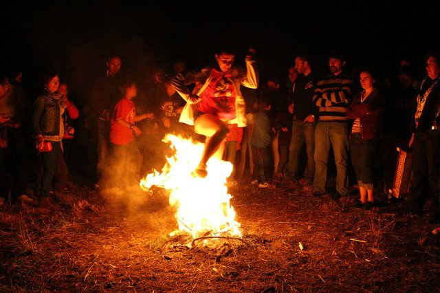 St. John's Eve is here, celebrated across Europe - & especially Spain -with bonfires!