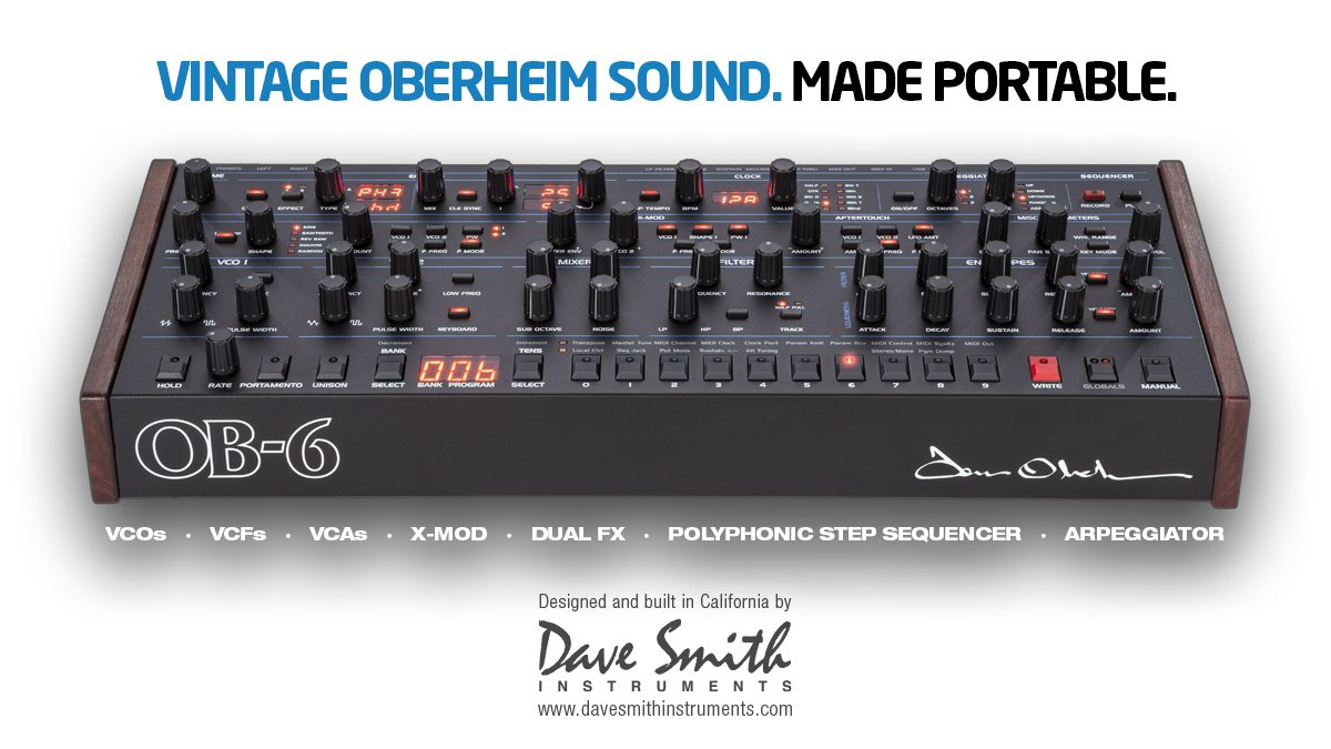 Introducing the @dsiSequential #OB6 Desktop Module! Showing at #SummerNamm show Booth #331. https://t.co/Eu8bRoWlXf https://t.co/Fc8nLq2vwl