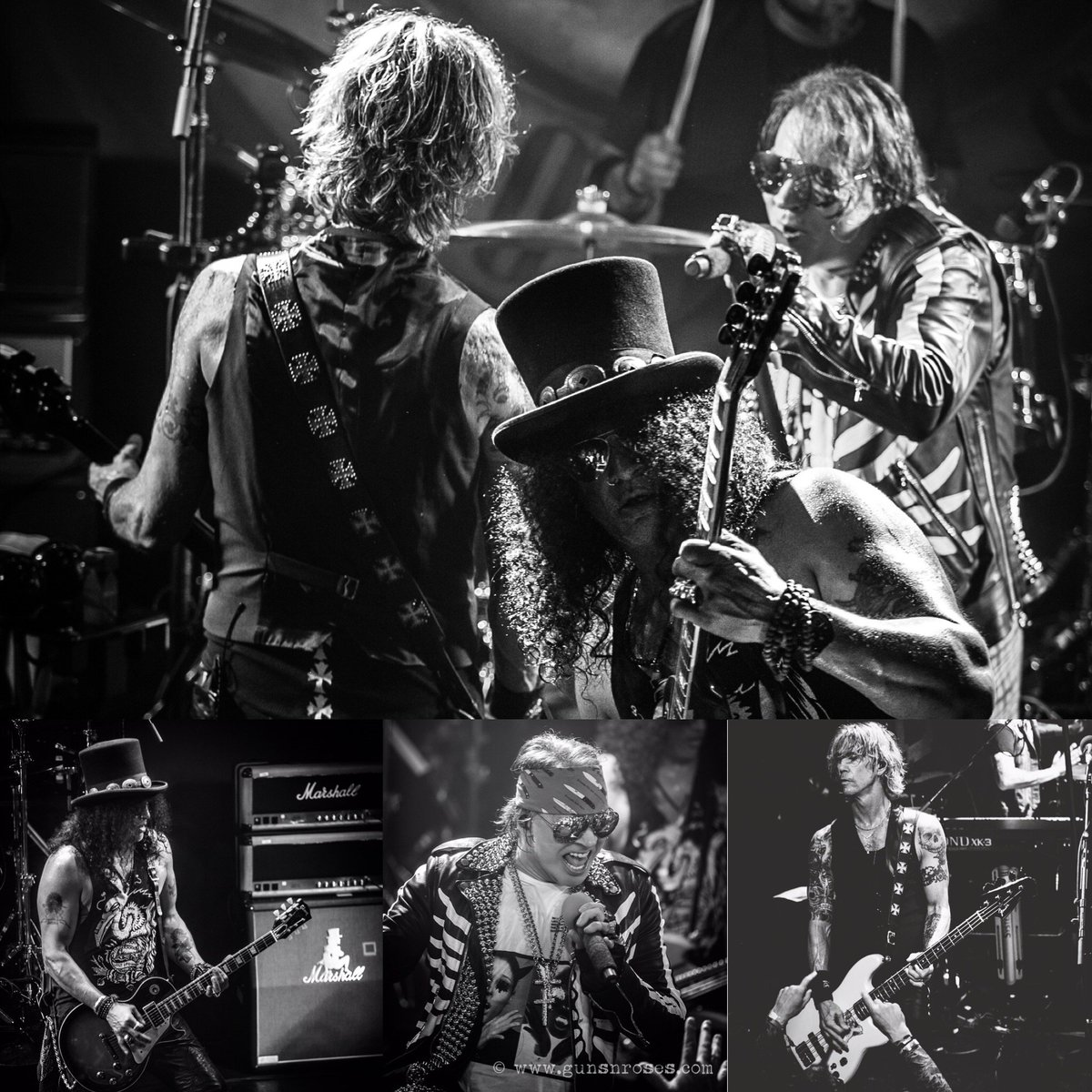 """Welcome back to the jungle. @gunsnroses """"Not In This Lifetime Tour"""" kicks off TONIGHT in Detroit!  #GnFnR https://t.co/ABoPvKkMlI"""