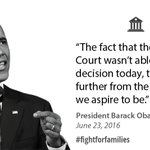 #POTUS reaffirmed the need for Congress to pass commonsense #immigration reform. #USvTX #FightForFamilies https://t.co/nDLtryPfon
