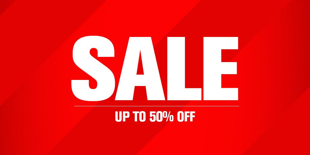 ICYMI: Up to 50% Off Nike, adidas, Under Armour, Asics & more, instore & online https://t.co/N4CvEF9NPc https://t.co/DcUD27Dg3J