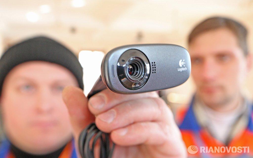 Камера видеонаблюдения из веб камеры
