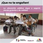 La educación para los niños y jóvenes michoacanos es nuestro compromiso principal. ¡Que no te engañen! #EstáenTi https://t.co/NVR9pbkY8Q