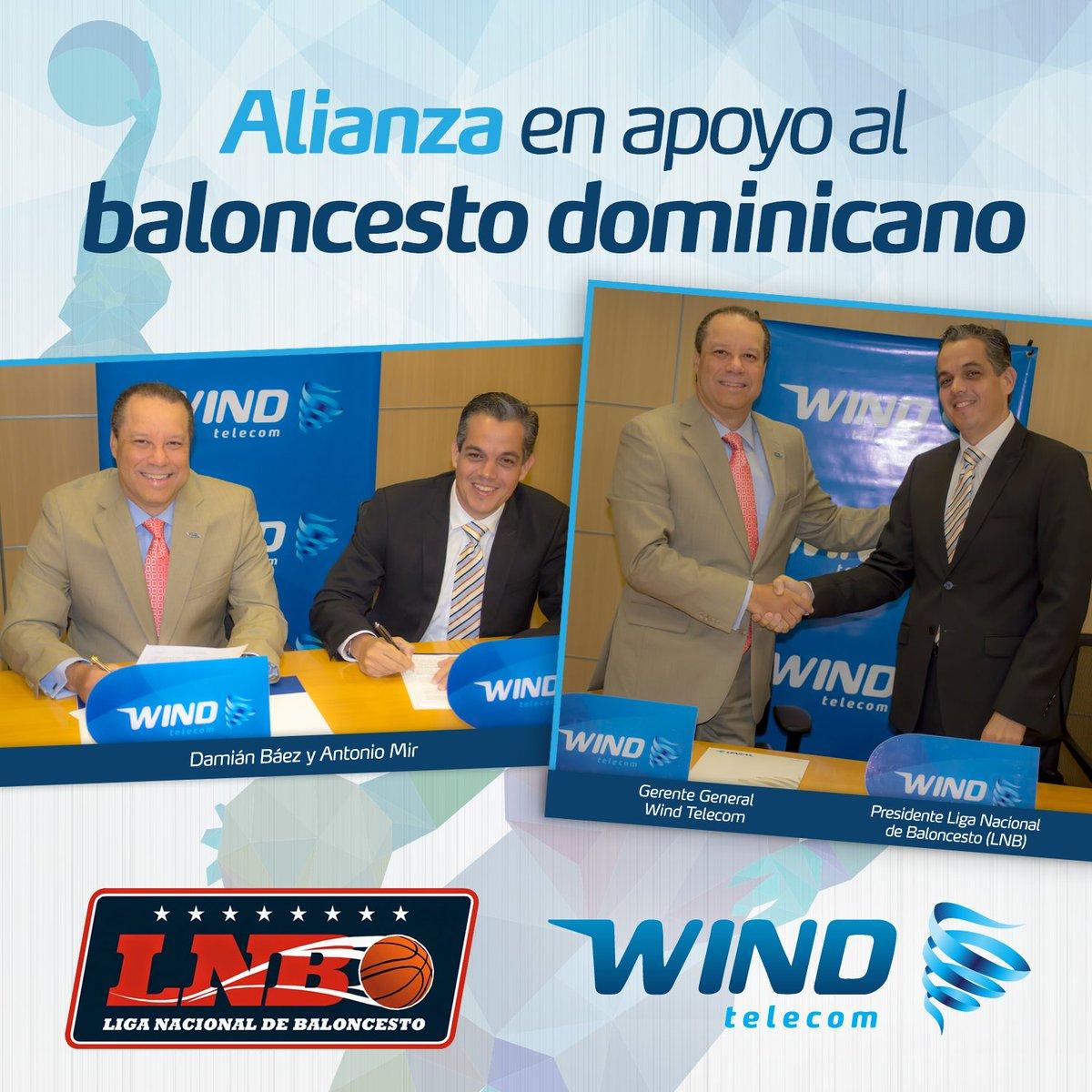 Wind en apoyo al Deporte Dominicano, firma alianza con la Liga Nacional de Baloncesto Dominicano #Windtaenbasket https://t.co/5jzHX4Y3el